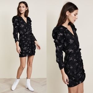 Rebecca Taylor NWT Glitter Silk Jacquard Dress
